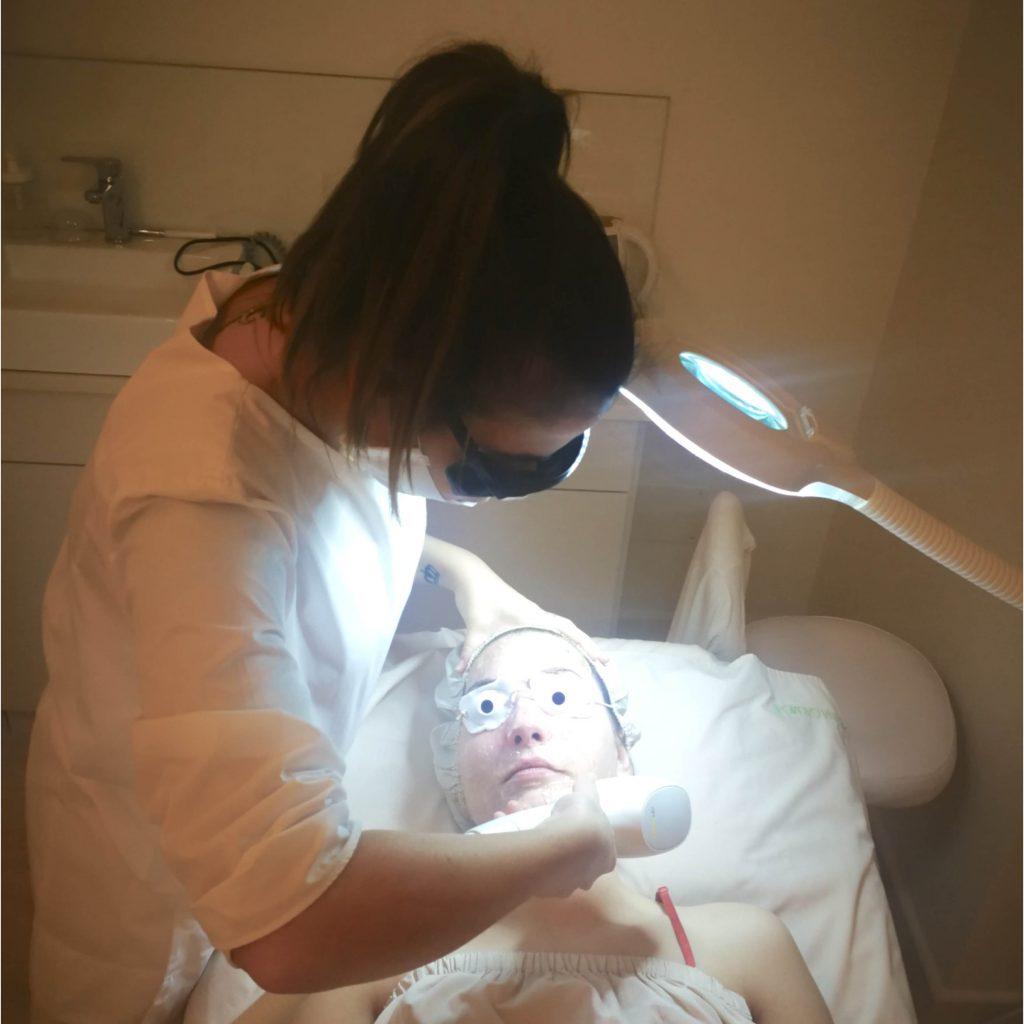 oxigenacion facial